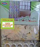 Шторка тканинна для ванної кімнати Shower curtain, з малюнком. Розмір 180х180 див., фото 3