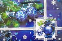 Пакет подарочный новогодний 47х33х9 см