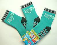 Теплые носки для девочек бирюзового цвета