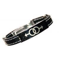 Распродажа: каучуковый браслет с двойным мужским символом
