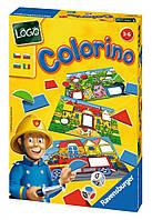 """Настольная игра """"Колорино"""" для детей от 3 лет ТМ Ravensburger 21192"""