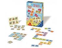"""Настольная игра 3-в-1 """"Винни"""" для детей от 3 лет ТМ Ravensburger 22192"""
