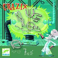 """Настольная игра головоломка""""Кразикс"""" в коробке для детей от 6 лет ТМ DJECO DJ08463"""