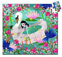 """Настольная игра пазл 54 """"Леди и лебедь"""" в коробке для детей от 6 лет ТМ DJECO DJ07255"""