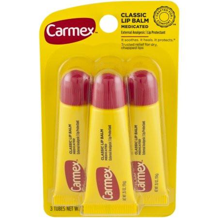 Бальзам для губ CARMEX без вкуса, из США ! упакока - 3 шт