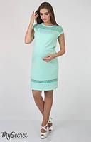 Платье для беременных Vesta р. 44-50 ТМ Юла Мама Мята DR-36.262