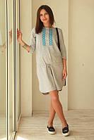 Платье для беременных Удачный день р. 44,50,52 ТМ NowaTy серый 15020107, фото 1
