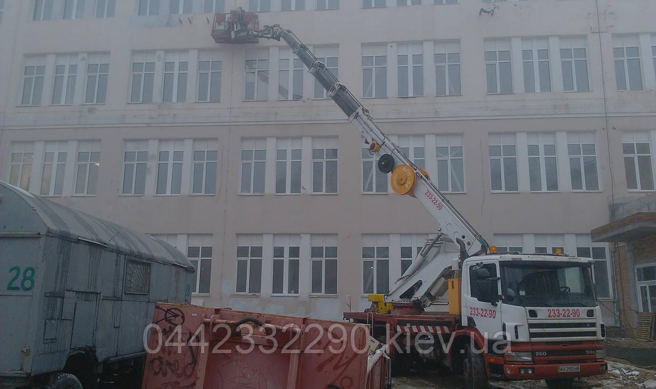 Аренда автовышки в Соломенском районе