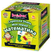 """Познавательная настольная игра Сундучок Знаний """"Моя первая математика"""" для детей от 5 лет ТМ BrainBox 98339"""