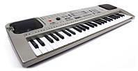 Детский пианино синтезатор MQ807 USB, 54 клавиш с микрофоном Работает от сети и батареек. Т