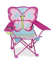 "Раскладной детский стульчик ""Бабочка Белла"" NEW (Butterfly Chair) ТМ Melissa & Doug MD16693"