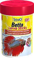 Корм для рыбок Tetra Betta Larva для петушков 100 грамм