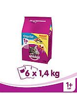 WHISKAS Sterile 1.4kg х6