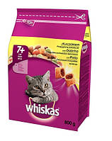 WHISKAS Senior курица 0,8kg