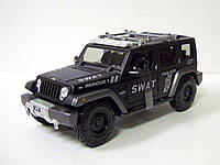 MAISTO Автомодель (1:18) Jeep Rescue Concept Police чёрный