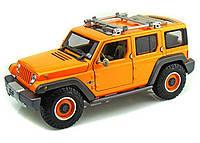 MAISTO Автомодель (1:18) Jeep Rescue Concept оранжевый металлик, фото 1