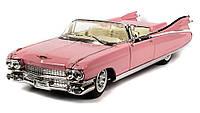 MAISTO Автомодель (1:18) Cadillac Eldorado Biarritz (1959) розовый