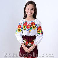 Костюм український на дівчинку 6-10 років