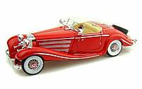 MAISTO Автомодель (1:18) Mercedes 500 K Typ Specialroadster (1936) красный, фото 1
