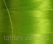 Нитка шелк для машинной вышивки embroidery 120den. №D-167 салат 3000 ярд
