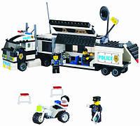 Конструктор Brick 128 Полицейский участок , фото 1
