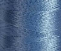 Нитка шелк для машинной вышивки embroidery 120den. №D-365 голубой 3000 ярд