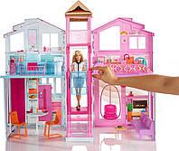 Городской дом Малибу Барби 2016 / Barbie Pink Passport 3-Story Townhouse