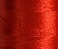 Нитка шелк/embroidery 120/2den красн.№D-310 3000ярд .