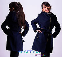 Детское подростковое осеннее пальто Лори для девочки
