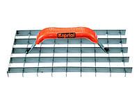 Гладилка Kapriol с ячейками для пористого бетона