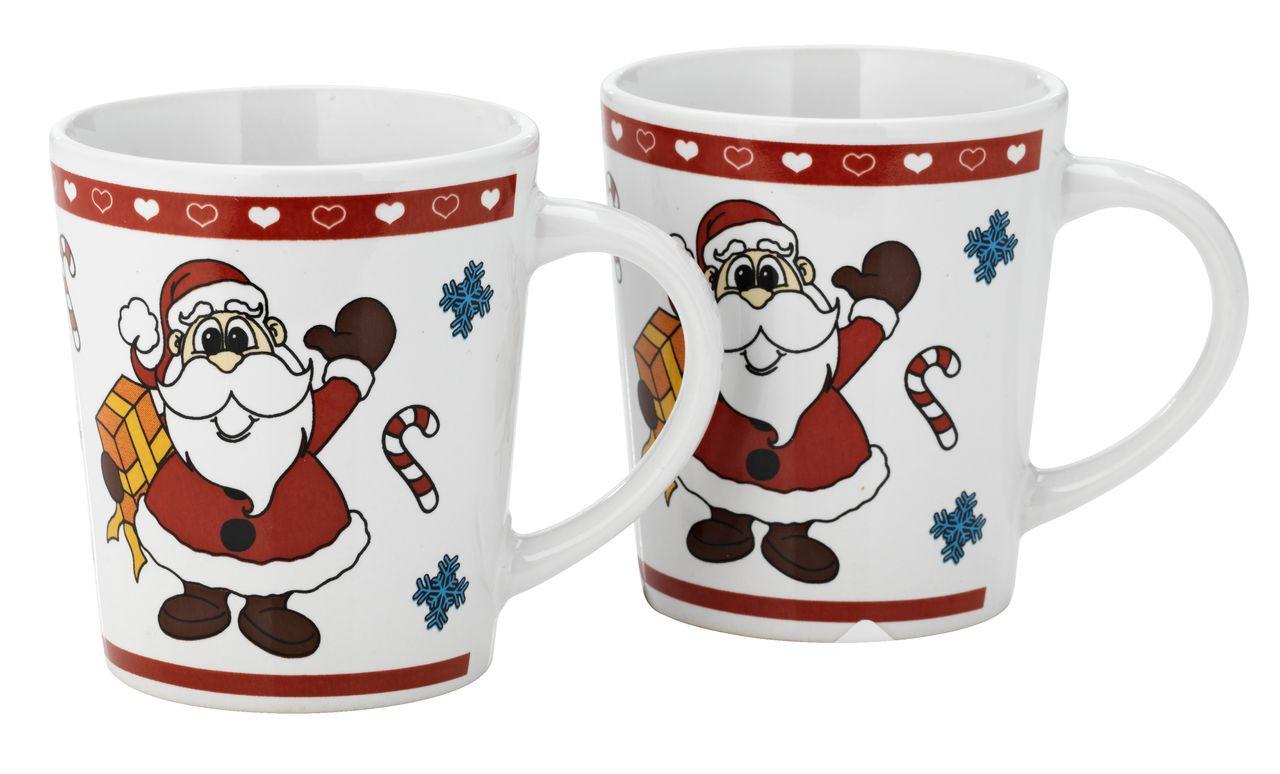 """Новогодняя чашка """"Дед мороз"""", 8 см"""