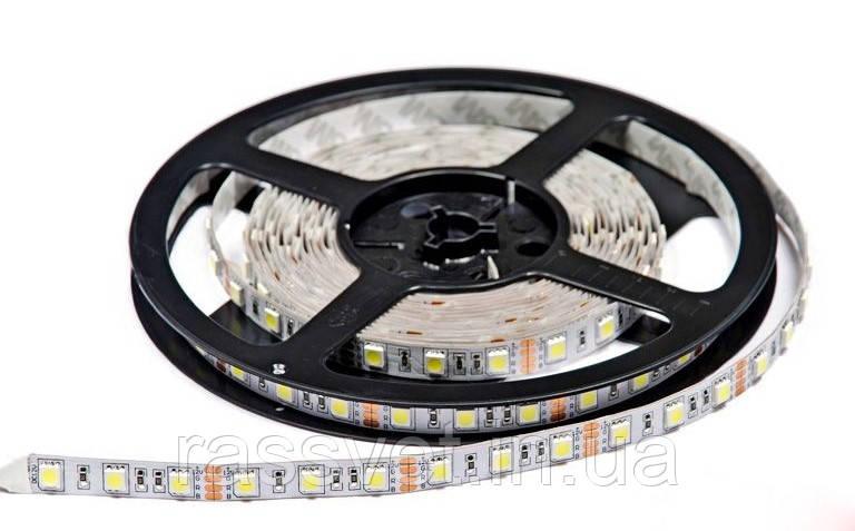 Светодиодная лента SMD 5050 (60 LED/m) IP20 Premium - RASSVET в Киеве