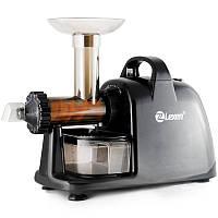Шнековая соковыжималка Lexen Healthy Juicer Electric Black, фото 1