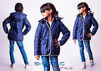 Детское стеганное пальто Алла для девочки