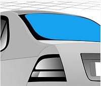 Стекло автомобильное заднее с подогревом Chrysler 300 C 05-
