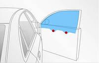 Стекло автомобильное переднее правое Chrysler 300 C 05-