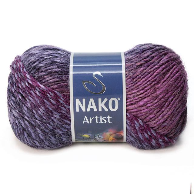Nako Artist (Нако Артист) акрил 65%, шерсть 35%
