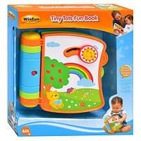 Интерактивная развивающая книжка для малышей