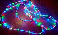 Лента светoдиoднaя многоцветная, полная влагозащита (силиконовая туба) 5м.