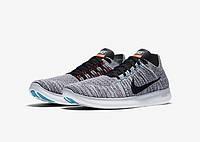Мужские кроссовки Nike Free Run Flyknit Grey 3