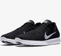 Мужские кроссовки Nike Free Run Flyknit Black 4