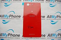 Задняя панель корпуса для Sony D5803 Xperia Z3 Compact Mini, D5833 Xperia Z3 Compact Mini Red