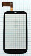 Тачскрин сенсорное стекло для HTC Desire V T328w black