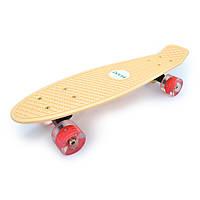"""Penny 27"""" Penny Board Longboard Со светящимся колесом Пастельный"""