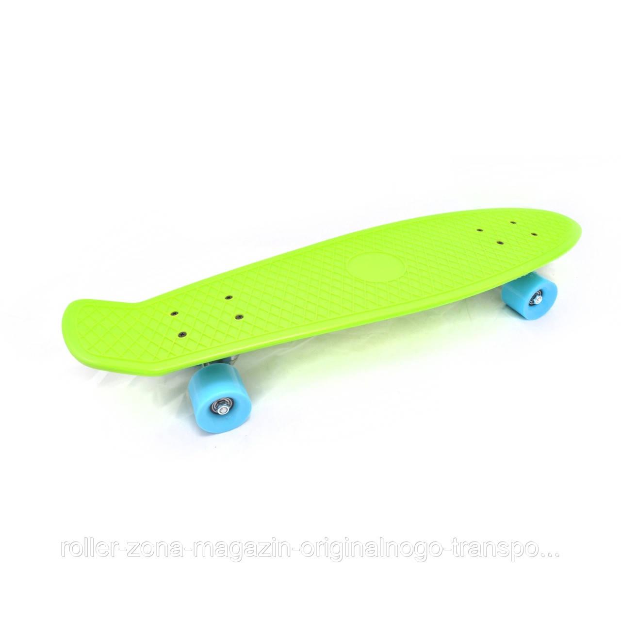 """Penny 27"""" Penny Board Longboard Зеленый"""