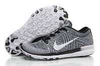 Мужские кроссовки Nike Free Run Flyknit Grey 4