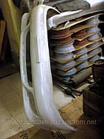 Бампер Ланос. Накладка переднего бампера Ланос. Панель переднего бампера Lanos. Буфер передний - не оригинал, фото 1