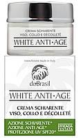 Осветляющий крем от морщин для лица, шеи и зоны декольте. DoBrasil White Anti-Age Crema Schiarente Viso, Collo