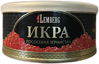 Красная лососевая икра горбуши ТМ Lemberg 250гр