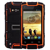 """Смартфон Digoor DG1 black-orange IP68 РАЦИЯ (2SIM) 4,3"""" 0,5/4 GB 5/0,3 Мп оригинал Гарантия!"""